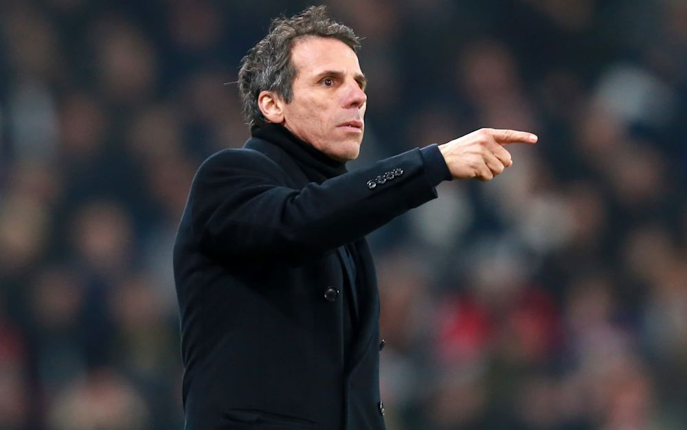 Zola replaced Gary Rowett in December, but City have fallen to 18th in that time - Copyright (c) 2016 Rex Features. No use without permission.