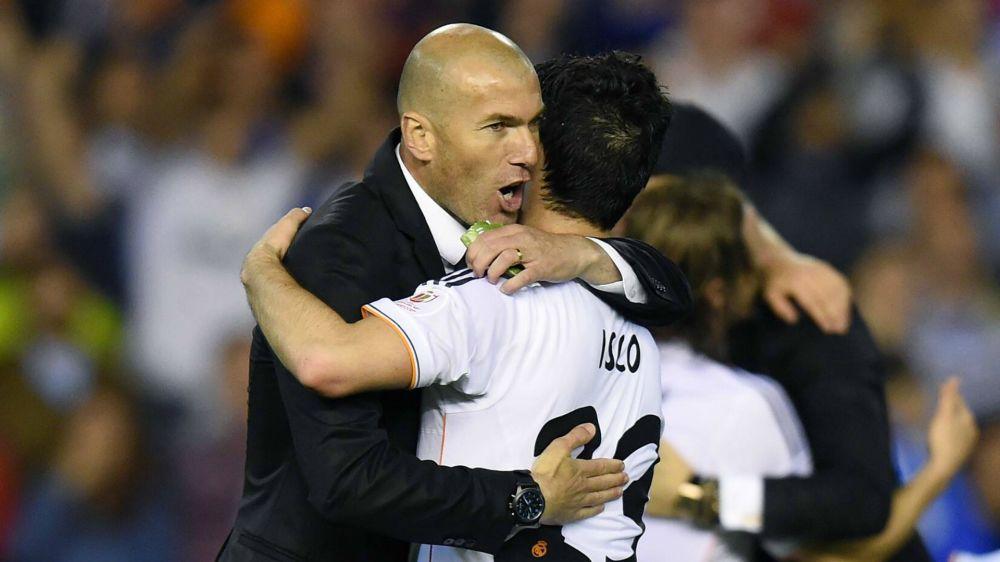 Isco Alarcón es el jugador más utilizado por Zidane en Liga