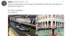 Madrid convertida en Venecia: las inundaciones del Metro dan rienda suelta a los memes
