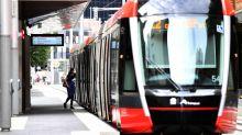Final stage of Sydney light rail opens