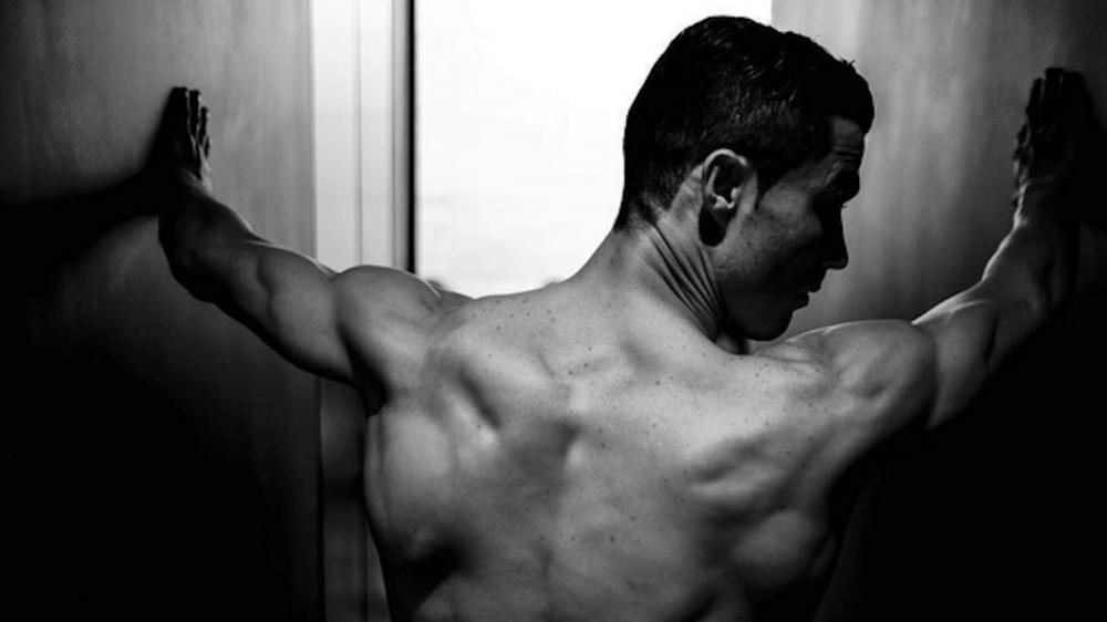 Cristiano Ronaldo, ¿totalmente desnudo?