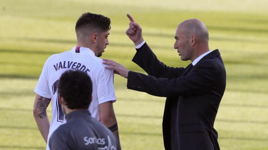Fede Valverde entrena en Anfield y está listo para jugar