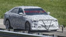 Hotter Cadillac CT4-V prototype spied testing at GM's Proving Grounds