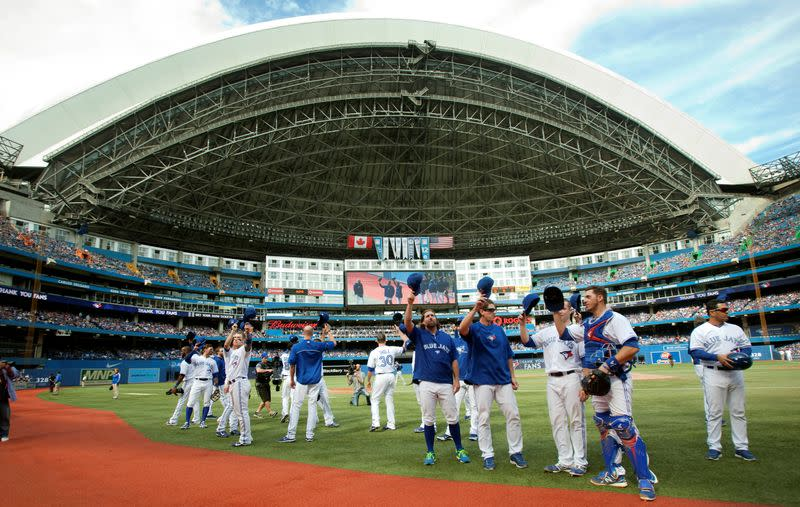 Canada government rejects Blue Jays plan to play in Toronto over COVID-19 fears