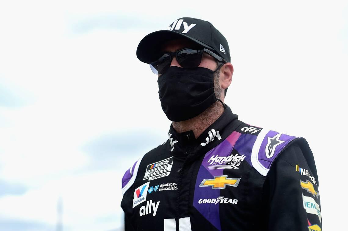 Jimmie Johnson's COVID-19 scare left him frustrated with 'more questions than answers'