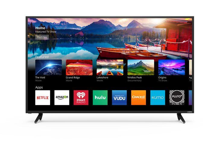 this 50 inch vizio 4k smart tv has chromecast built in and is on sale for 299. Black Bedroom Furniture Sets. Home Design Ideas