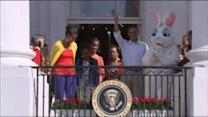 Athletes, stars join Obama for Easter Egg Roll
