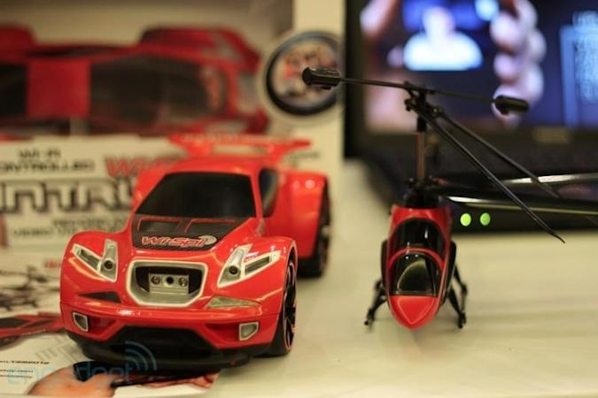 Wi-Spi Helicopter and Intruder RC toys put the childlike wonder back into spying on your neighbors