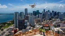 Los drones se adueñan de los rascacielos y de los viñedos