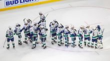 Thatcher Demko stops 43 shots as Canucks beat Vegas 2-1 in NHL playoff action