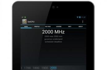 Google Nexus 7 overclocked to 2GHz, punches well above its weight