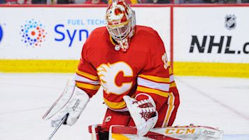 Flames' goalie situation a massive question mark