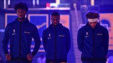 Warriors' starters not yet best 5-man unit, but Steve Kerr can wait