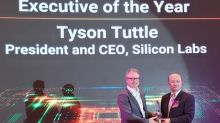 ASPENCORE Names Silicon Labs' Tyson Tuttle Executive of the Year at Global CEO Summit