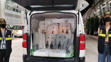 海關機場破酒樽運毒案 拘3男檢2000萬元液態可卡因