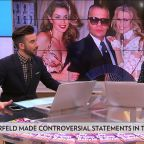 Celebrities Pay Tribute to Karl Lagerfeld After Designer's Death at 85