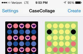 Change the look of your iPhone 5c case with CaseCollage app