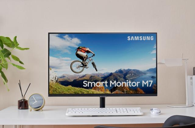 Samsung's latest monitor is a smart TV with PC features