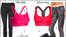 Cheap vs expensive fitness clothes and trainers: How much should we spend?