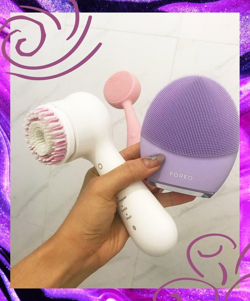 I Tried Three High Tech Facial Cleansing Devices Here S