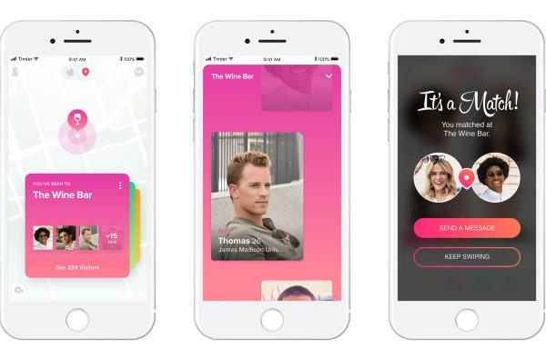 Tinder Places matches you with people from your favorite hangouts