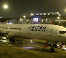 Passengers were terrified when an engine on their United flight failed after takeoff