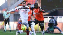 Lorient-Lyon (1-1) : Les Lyonnais n'avancent pas