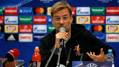 Klopp drops Champions League selection hint