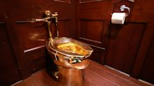 Who's got the golden toilet? Thieves make off with $1.25 million commode