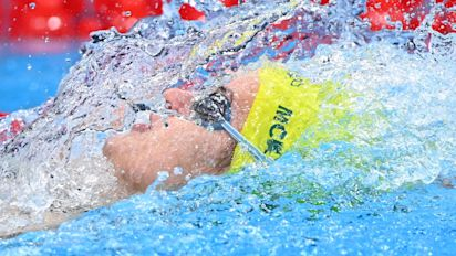 The 100M backstroke record just got obliterated