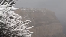 Grand Canyon Dusted by Several Inches of Snow