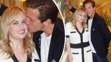 Rebel Wilson cops a smooch from new boyfriend: 'Hot couple'