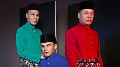 Malaysian pop trio, KRU, are disbanding after their final concert