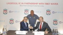 Liverpool FC and Tibet Water announce official partnership