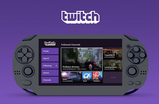 Twitch introduces a PlayStation Vita app