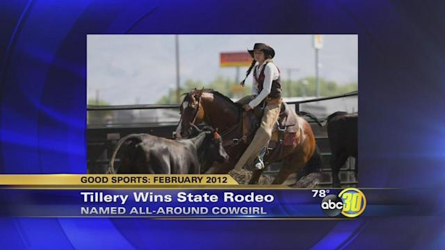 Former Good Sports standout wins state rodeo title