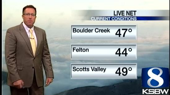 Get Your Thursday KSBW Weather Forecast 5.09.13