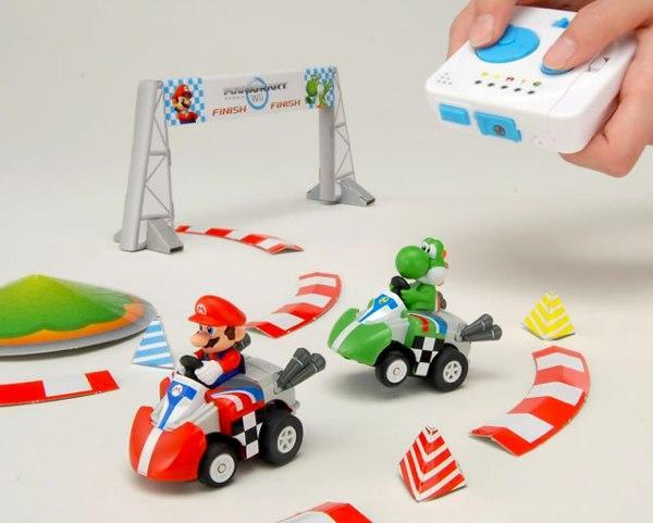 Mario Kart RC game brings the Mushroom Cup to your living room