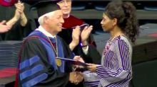 Waffle House Shooting Victim's Mom Accepts Daughter's Diploma
