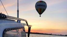Seenotretter nehmen Heißluftballon vor Usedom an die Leine