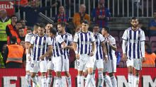 La queja viral del capitán del Valladolid tras la goleada ante el Barcelona