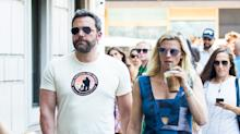 Live from New York! Ben Affleck and Girlfriend Lindsay Shookus Reunite — and He Visits Her Office