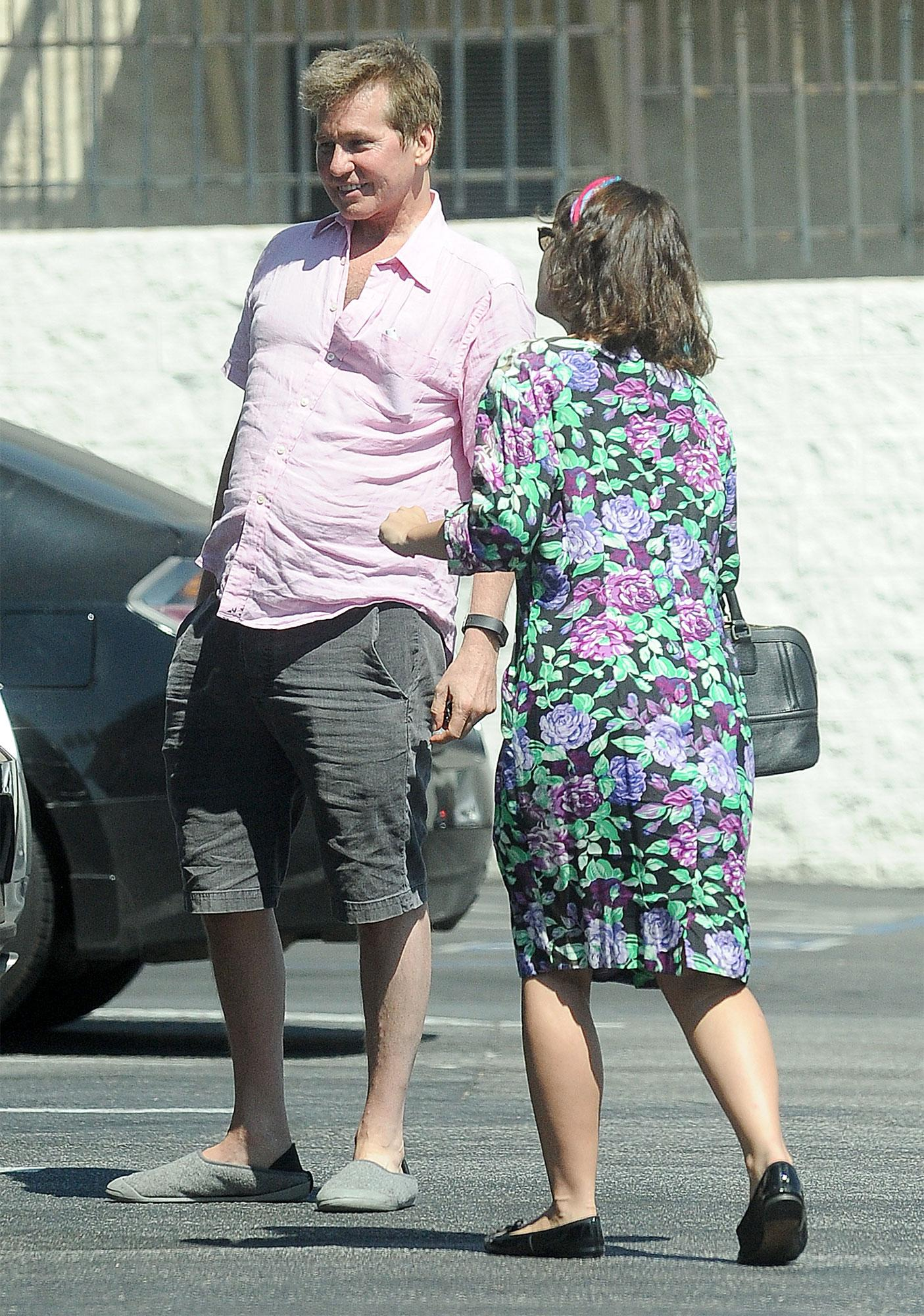 val kilmer steps out looking healthy while preparing to