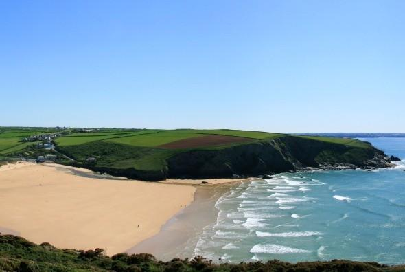 """<p> By far one of the prettiest, safest and expansive beaches in the area, Mawgan Porth offers fabulous swimming, family surfing and body boarding. <strong>Top tip:</strong> Book in for a family sufing lesson at <a href=""""http://www.kingsurf.co.uk/"""" target=""""_blank"""">Kingsurf</a> – the affable owner, Pete Abell, is an inspiration. Oh, and make sure you have a cream tea at the Merrymore Inn afterwards.</p>"""