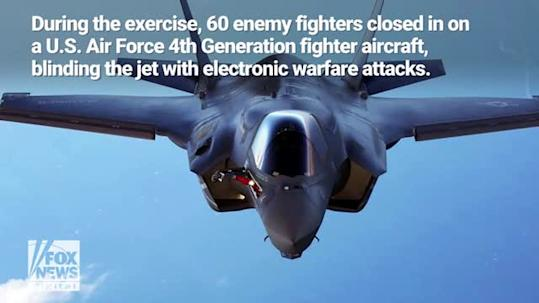 You're Dead: The F-35 Is Crushing Enemy Fighter Jets in Air War