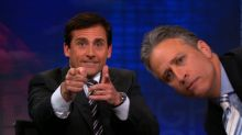 Jon Stewart, Steve Carell reunite for political satire Irresistible