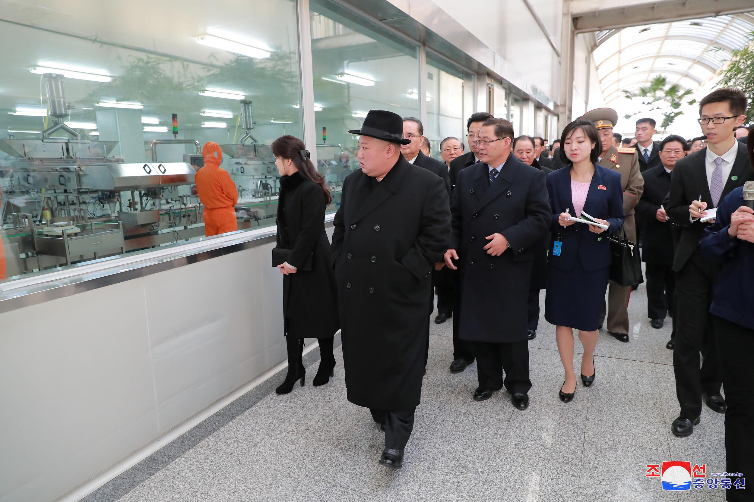 North Korean leader Kim Jong Un is seen during a visit in Beijing, China, in this photo released by North Korea's Korean Central News Agency (KCNA) on January 10, 2019. KCNA via REUTERS    ATTENTION EDITORS - THIS IMAGE WAS PROVIDED BY A THIRD PARTY. REUTERS IS UNABLE TO INDEPENDENTLY VERIFY THIS IMAGE. NO THIRD PARTY SALES. SOUTH KOREA OUT. NO COMMERCIAL OR EDITORIAL SALES IN SOUTH KOREA.