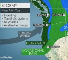 Early week storm may be strongest yet this season in northwestern US