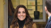 ICYMI, Kate Middleton wears a secret memento of her children