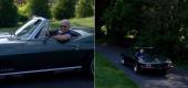 Joe Biden in his 1967 Corvette. (Autoblog)